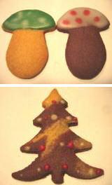 きのこ&ツリークッキー